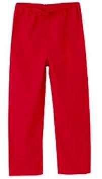 Children's scrub pant 1 back pocket solid