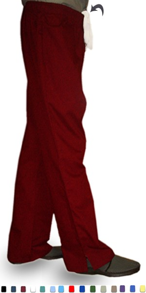PANT BOOTCUT 2 SIDE POCKETS WAISTBAND WITH DRAWSTRING AND ELASTIC BOTH LADIES
